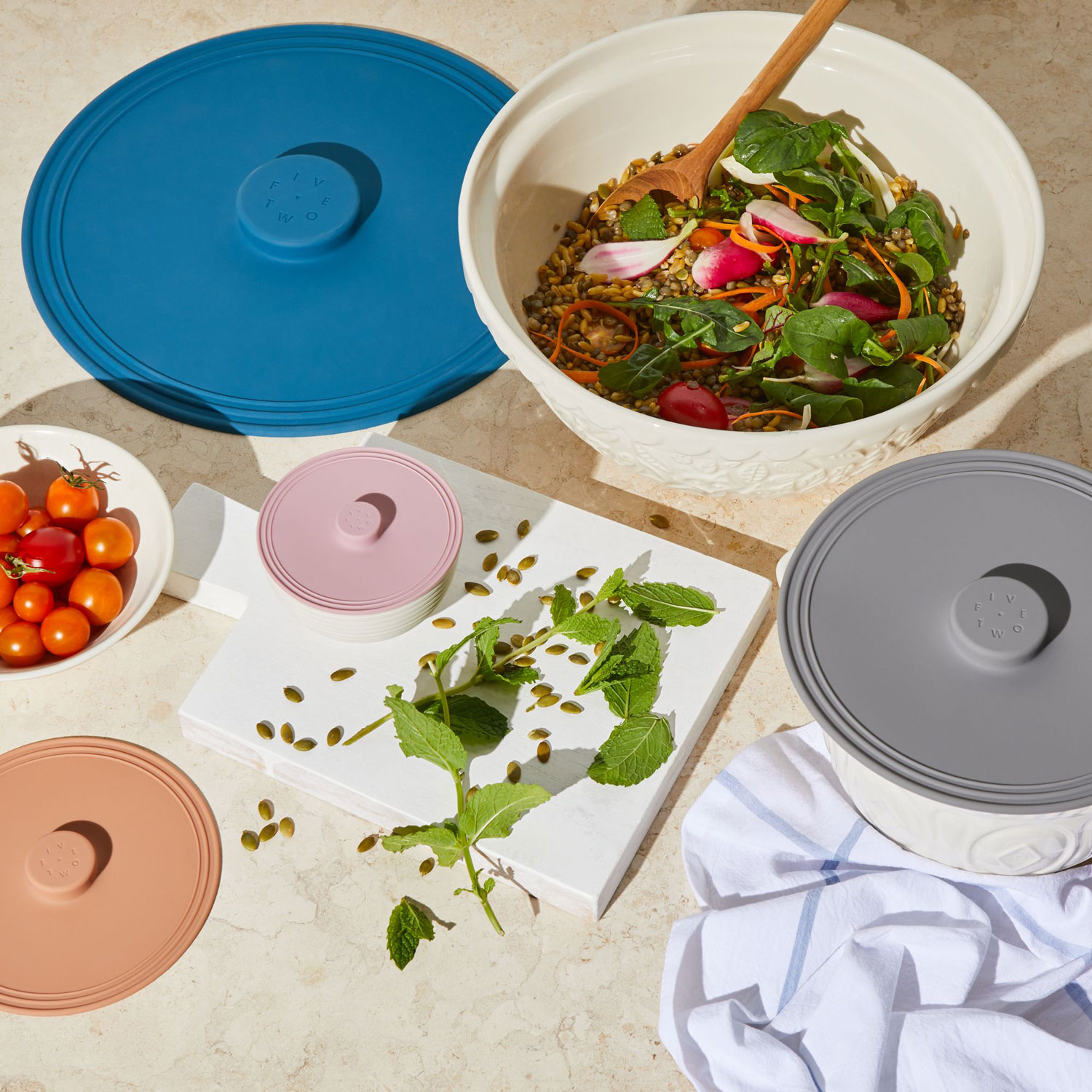 These Airtight Lids Are Perfect for Storing Pots Directly in the Fridge