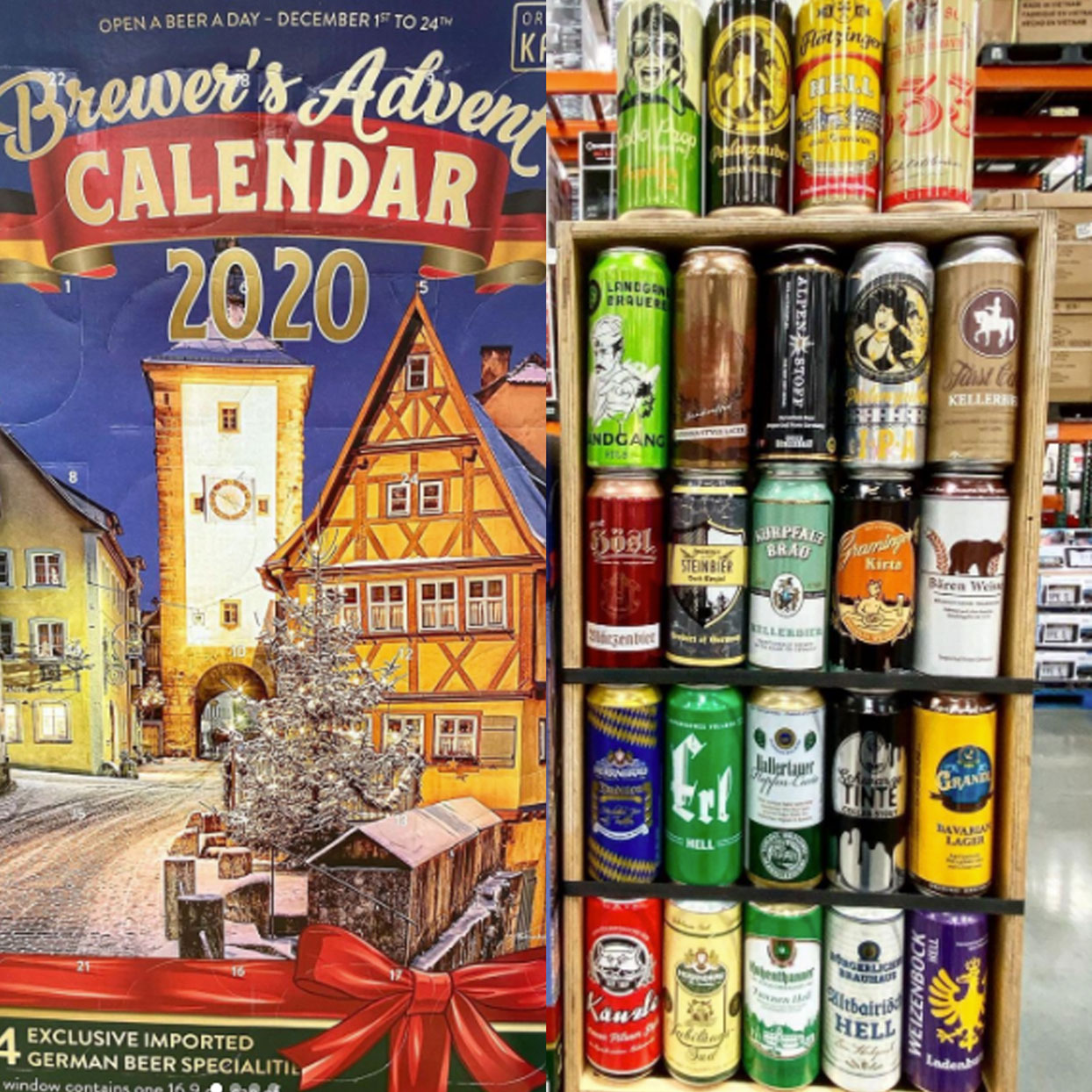 Costco's German Beer Calendar Proves It's Not Too Early to Start Celebrating the Holidays