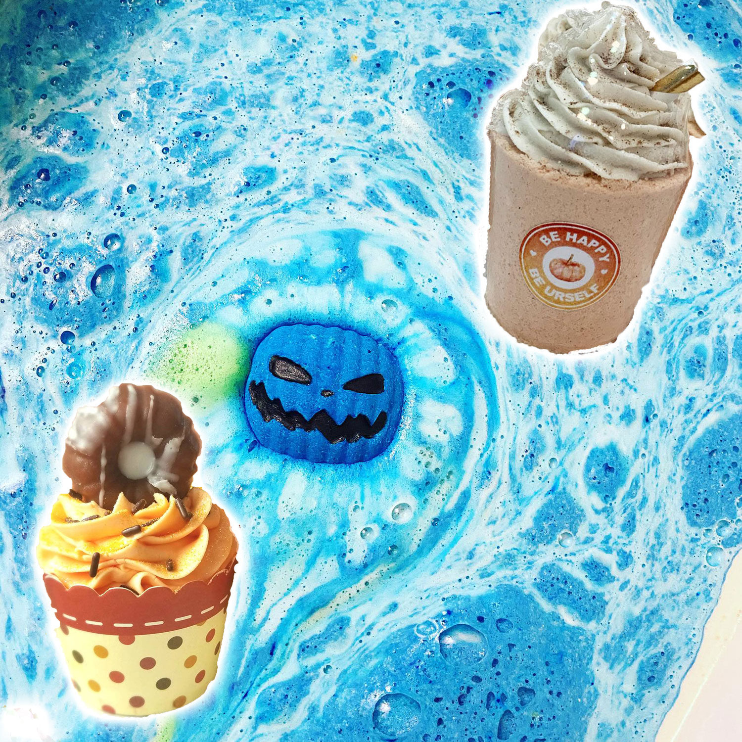 I'm Obsessed with These Fall Bath Bombs That Look and Smell Like Pumpkin Spiced Lattes, Apple Cider Donuts and More